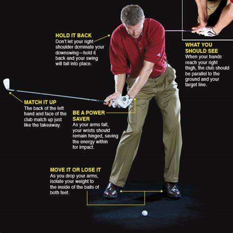 right shoulder golf swing build a repeating swing golf com