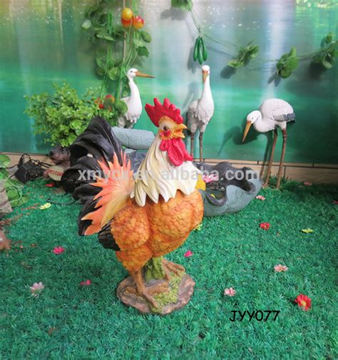 Wholesale Garden Decor by Garden Decor Wholesale Polyresin Rooster Figurine Buy Wholesale Polyresin Rooster