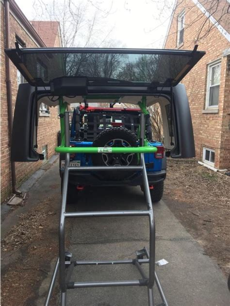 can you take a hardtop a jeep toplift pros simple jeep hardtop removal and storage
