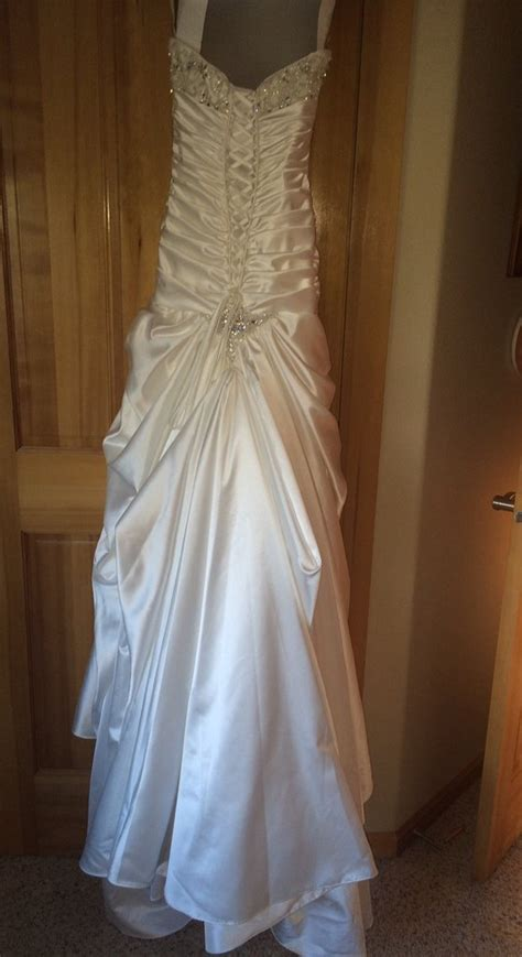 Jesslyn Dress sottero and midgley jesslyn size 0 used wedding dress