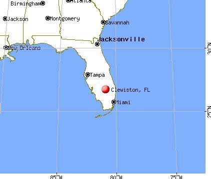 clewiston florida fl 33440 profile population maps