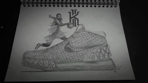 Kyrie 4 Sketches by Nike Kyrie 1 Drawing