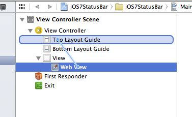 Layout Guide Status Bar | upgrading your iphone app to ios 7 the new status bar
