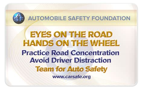 Distracted Driving The Deadly Epidemic by On The Road On The Wheel Asf Delivers Cure For