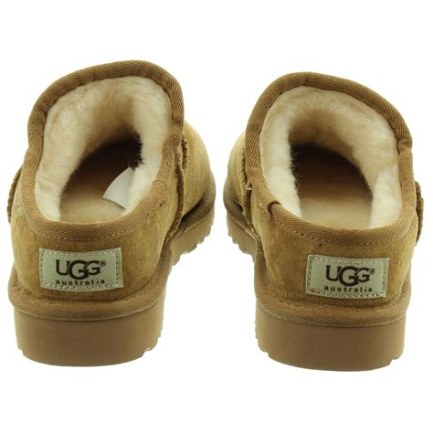 ugg boot slippers ugg classic slippers in chestnut in chestnut