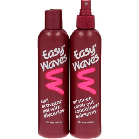 hair curl activator with things from home easy waves curl activator gel comb out conditioner