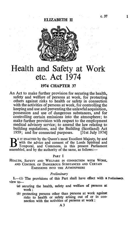 health and safety at work act 1974 section 8 hasawa 1974