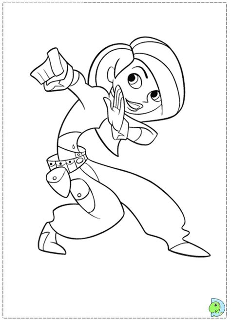 Kim Possible Coloring Pages To Download And Print For Free Possible Coloring Pages