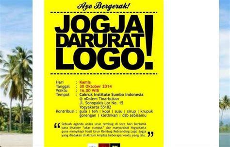 togua logo  jogja  dikritik jadi candaan