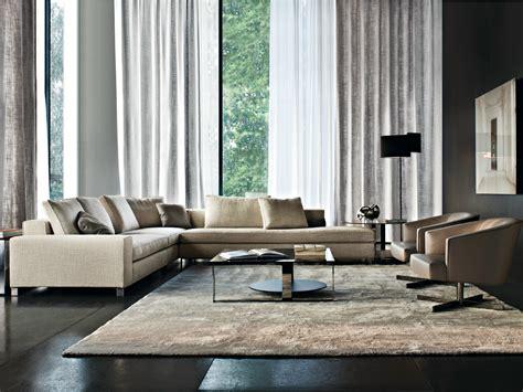 minotti williams sofa upholstered fabric sofa corner sofa williams series by minotti