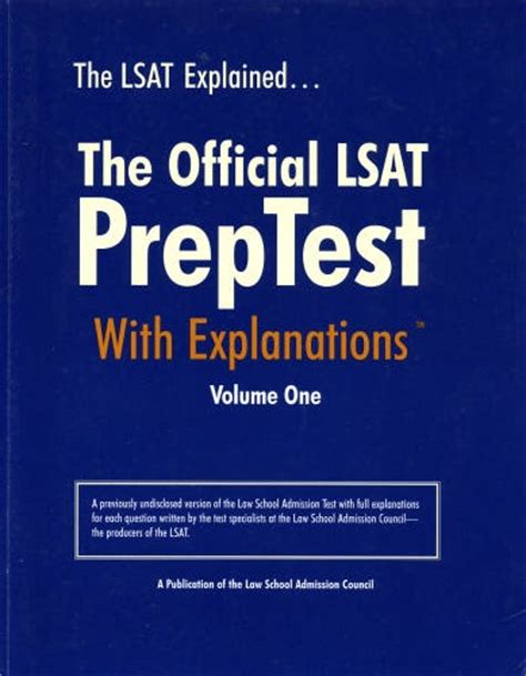 master the lsat includes 2 official lsats books official lsat preptest february 1997