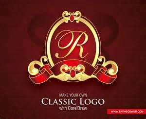 corel draw logo templates classic logo design in corel draw