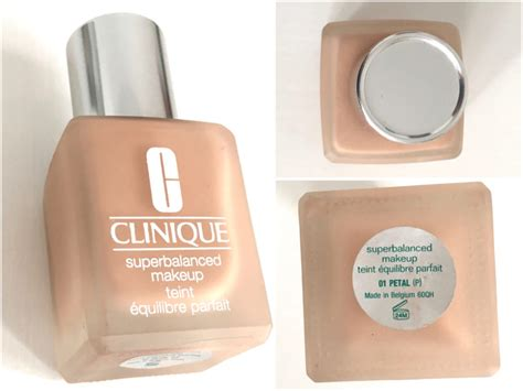 Foundation Clinique clinique superbalanced makeup foundation review swatches