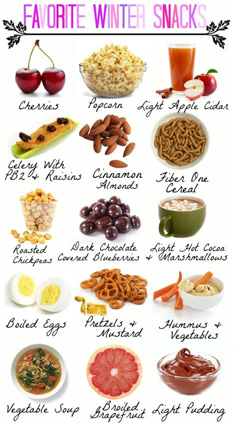7 Healthy Snacks To Snack On At Work by My Favorite Healthy Winter Snacks My