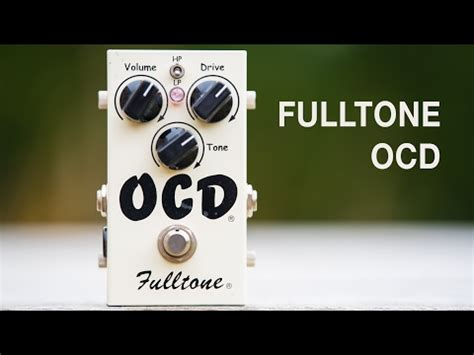 blindfolded tone part 1 drive pedal revealed fulltone ocd version 2 played with les paul and tel