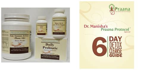 2 Day Detox Price by Dr Manisha S Praana Protocol 174 Approved 6 Day Detox
