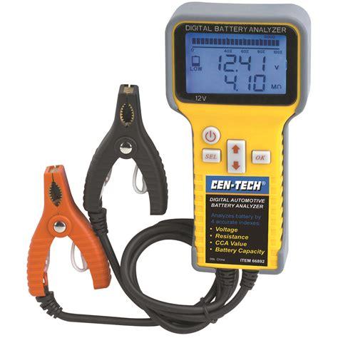 digital battery digital automotive battery analyzer
