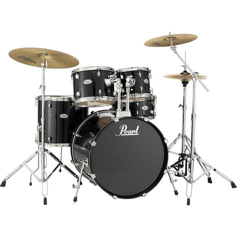 drum with pearl soundcheck complete 5 pc drum set with hardware and