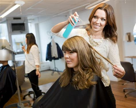 fashinoned hairdressers and there salon potos should you spring for pricey hair salon products or are