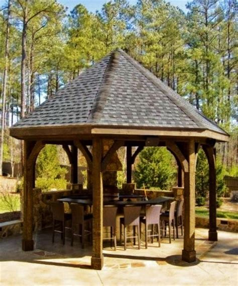 gazebo outdoor kitchen gazebo and outdoor kitchen