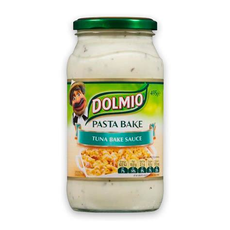 dolmio tuna pasta bake sauce 490g the marulan general store