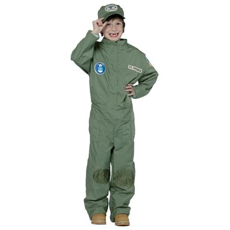 air force uniform shops us air force pilot uniform military soldier child costume