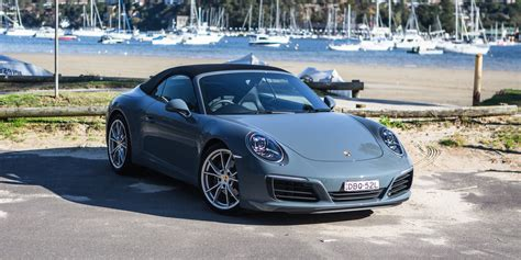 porsche car 2016 2016 porsche 911 cabriolet review caradvice