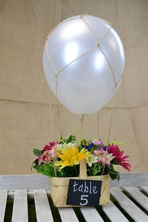 diy real hot air balloon diy hot air balloon centerpiece love inc maglove inc mag