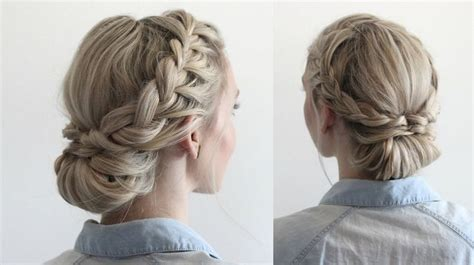 headband hairstyles for work 25 best ideas about easy braided updo on pinterest easy