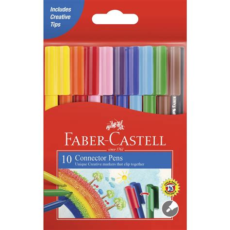 Faber Castell Connector faber castell connector pens 10 pack ebay