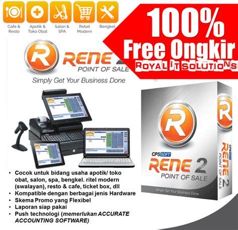 Software Kasir Toko Rene2 Pos by Jual Rene2 1 4 Ipos Aplikasi Toko Software Kasir Program