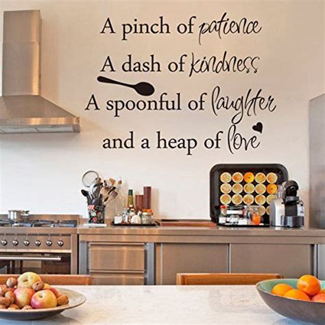 kitchen stickers wall decor 25 best kitchen wall quotes on kitchen wall
