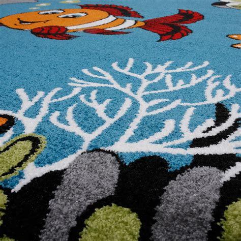 kinderzimmer blau turkis kinderzimmer teppich unterwasserwelt kurzflor in t 252 rkis