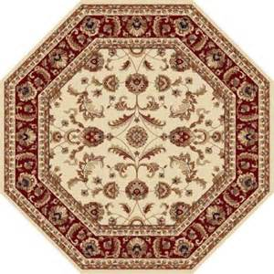 Octagon Area Rug Tayse Rugs Sensation Beige 5 Ft 3 In Octagon Transitional Area Rug 4792 Ivory 6 Octagon The