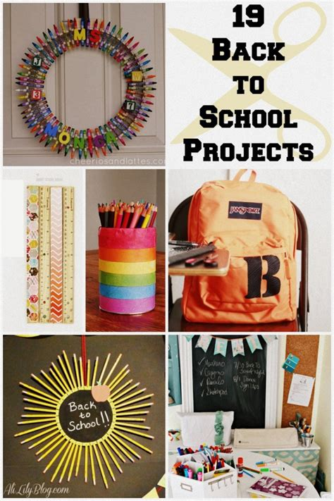 19 back to school ideas crafts organization and printables 4 real