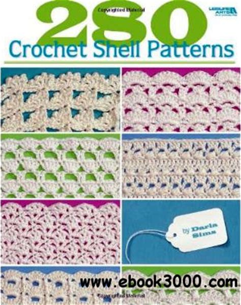 crochet pattern ebook free download 280 crochet shell patterns free ebooks download
