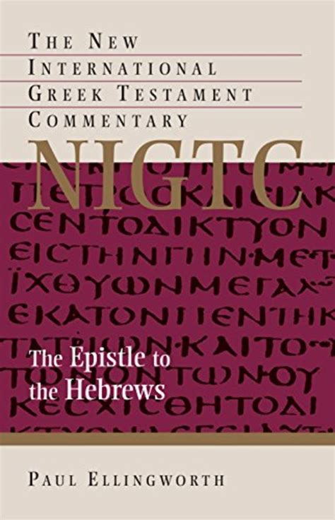 Best Bible Commentaries on Hebrews | A Listly List Explain Hebrews