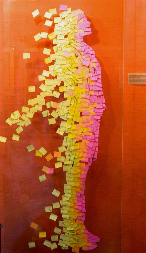 Pixelnotes Wallpaper Reinvents The Post It by Post It Note Display On Plastic Or Acrylic Glass Sheet