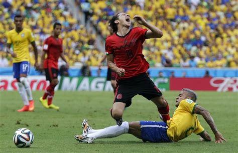 brazil  mexico soccer match football wallpaper brazil