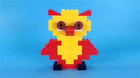 Lego Owl Tutorial | how to make lego owl 10664 lego bricks and more creative