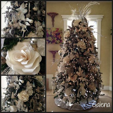como decorar mi arbol de navidad color blanco ideas para decorar el 225 rbol de navidad ana galena