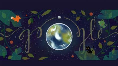 doodle bumi doodle hari ini hari bumi sriwijaya post