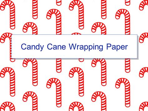 printable chocolate wrapping paper candy cane wrapping paper