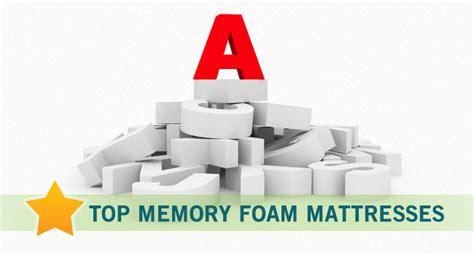 Best Memory Foam Mattress Brands by Bestmattress Reviews Org Reviews 8 Top Memory Foam