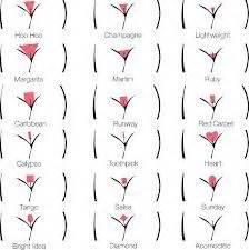 vagina hair shapes 7 best waxing images on pinterest beauty hacks beauty