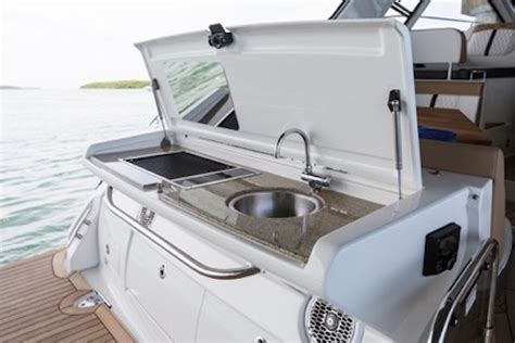 sea ray boat grill sea ray sundancer 350 coupe 2017 2017 reviews