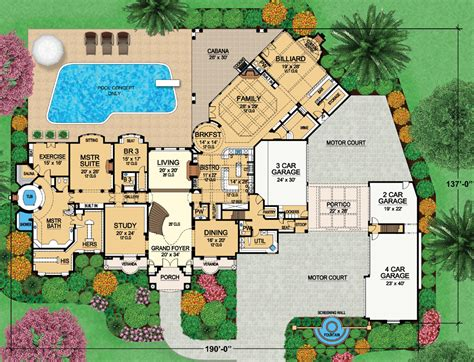 Georgian Home Floor Plans by Two Mansion Plans From Dallas Design Group Homes Of The Rich