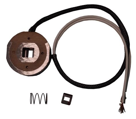 magnet kit with clip white wire