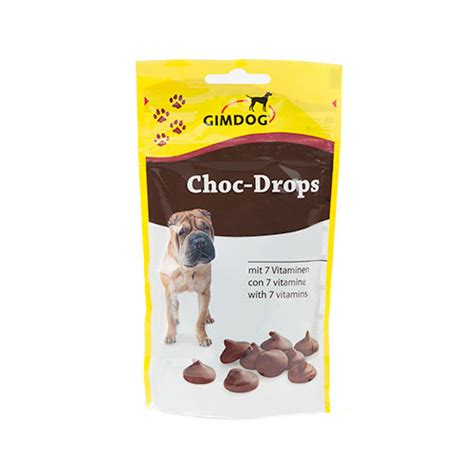 chocolate for dogs choco drops chocolate snack for dogs tiendanimal
