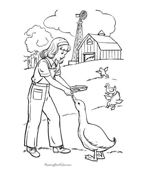 Farm Coloring Pages Coloring Home Coloring Pages Of A Farm